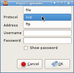 738635 – scp upload ends with 'Error in the SSH layer'